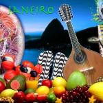 Rio - samba - futblol - frutas