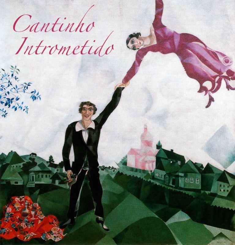 the-promenade-1918- Chagall - Le promennade