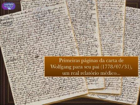 Amadé - Mozart - carta