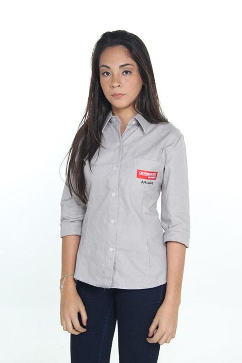 camisa - unidforme - camisa feminina